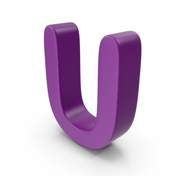 Purple Letter U PNG & PSD Images