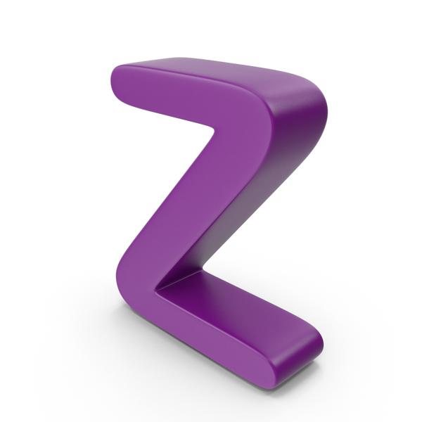 Purple Letter Z PNG & PSD Images