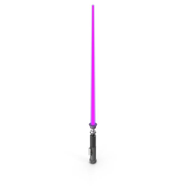 Purple Lightsaber PNG & PSD Images