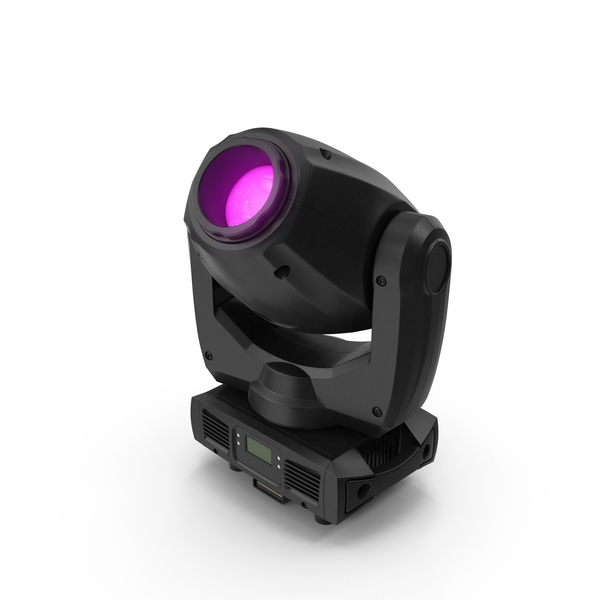 Purple Spot Stage Light Object