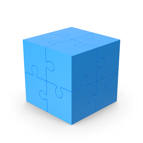 Puzzle Cube PNG & PSD Images