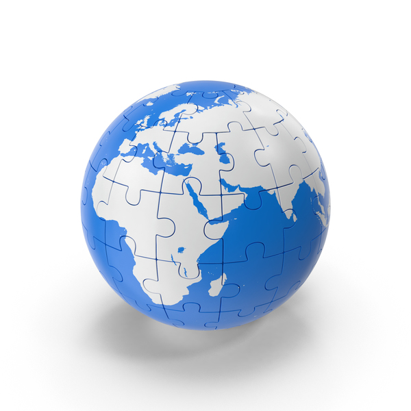 Puzzle Globe PNG & PSD Images
