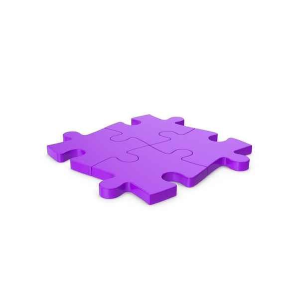Jigsaw: Puzzle Purple PNG & PSD Images