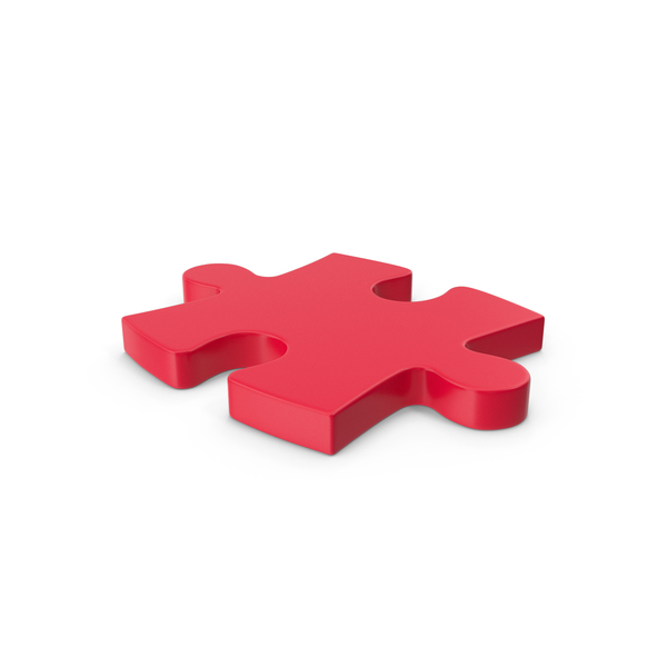 Jigsaw: Puzzle Red PNG & PSD Images