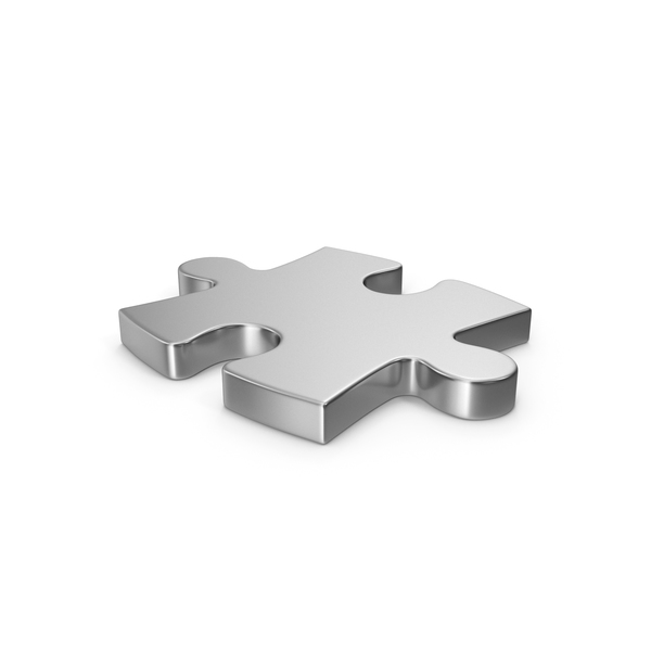 Puzzle Silver PNG & PSD Images