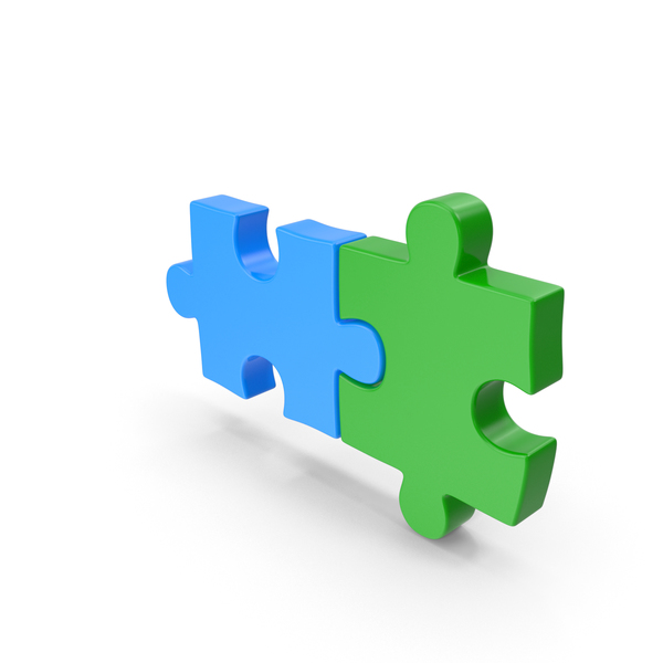 Puzzle Two Piece PNG & PSD Images