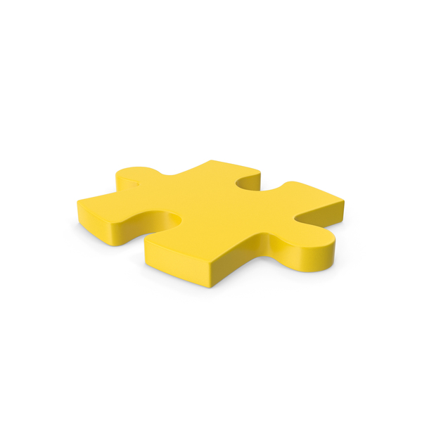 Jigsaw: Puzzle Yellow PNG & PSD Images
