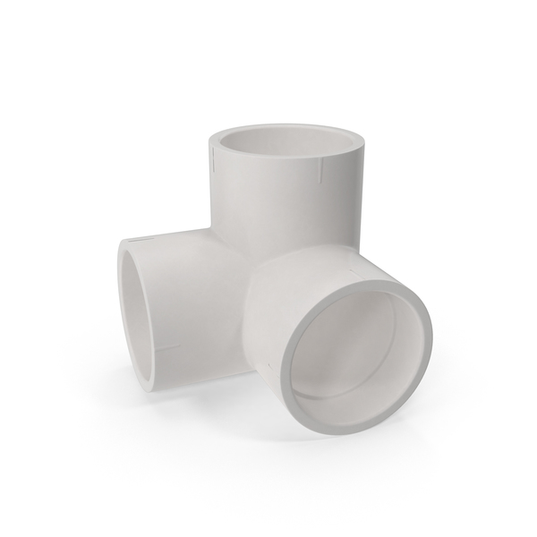 PVC Pipes and Fitting 5.1D PNG & PSD Images