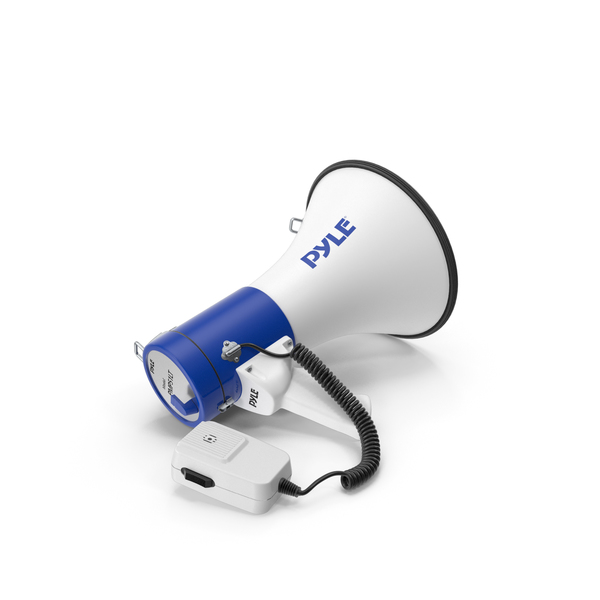 Pyle PMP51LT Megaphone Speaker PNG & PSD Images