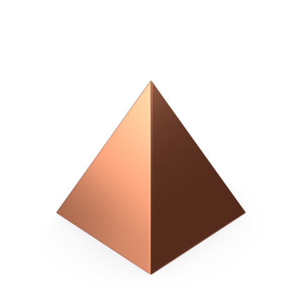 Pyramid Bronze PNG & PSD Images