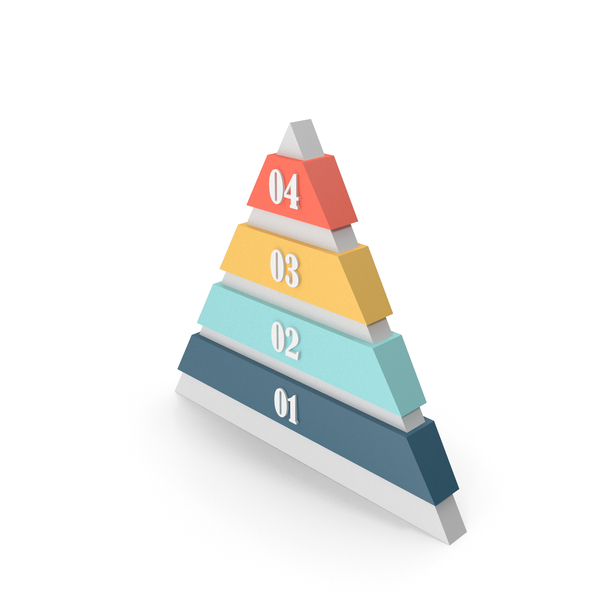 Pyramid Info-graphic PNG & PSD Images