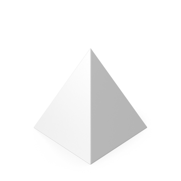 Pyramid White PNG & PSD Images