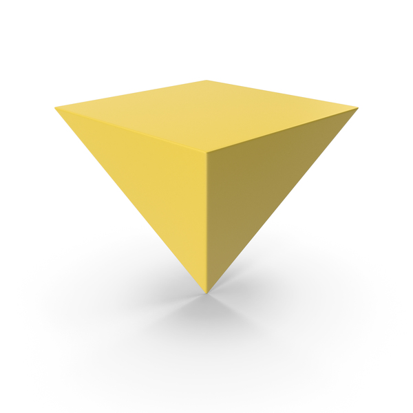 Pyramid Yellow PNG & PSD Images
