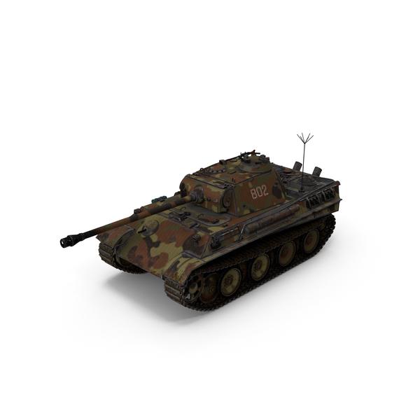 Panther Tank: PZ5 PNG & PSD Images