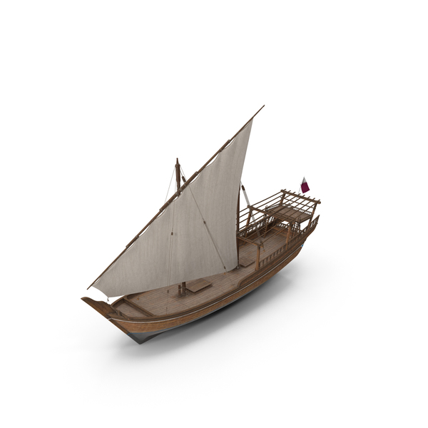 Qatar Traditional Boat PNG & PSD Images