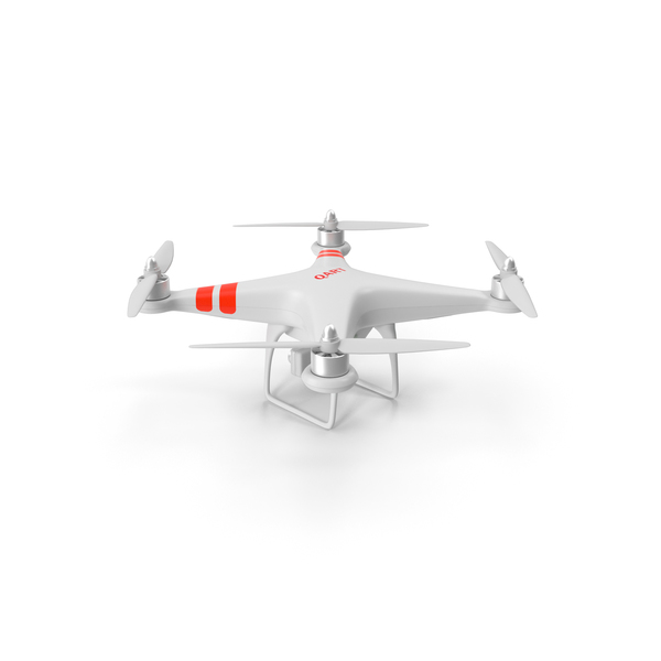 Quadro Copter With Video Camera PNG & PSD Images