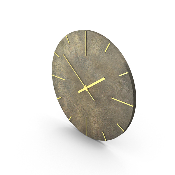 Quaint Wall Clock PNG & PSD Images