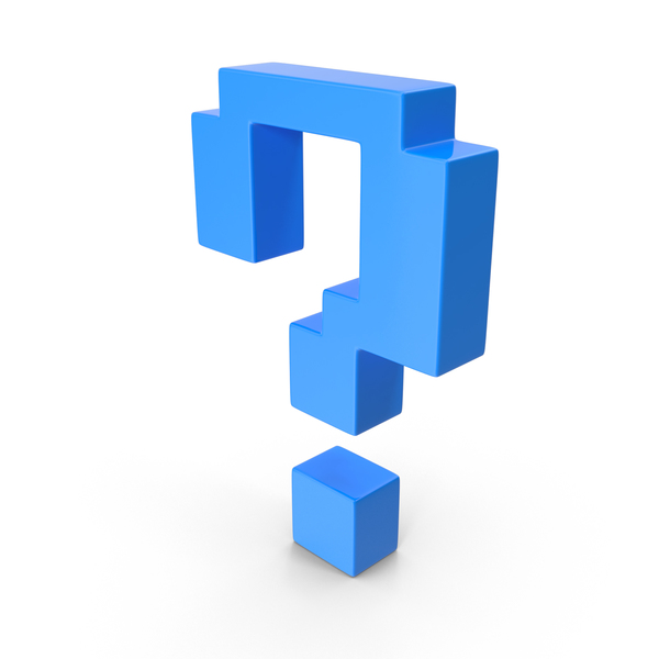 Question Mark Blue PNG & PSD Images