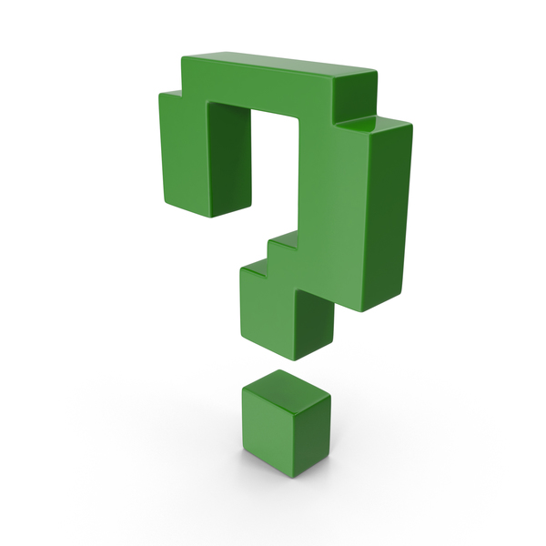 Question Mark Green PNG & PSD Images