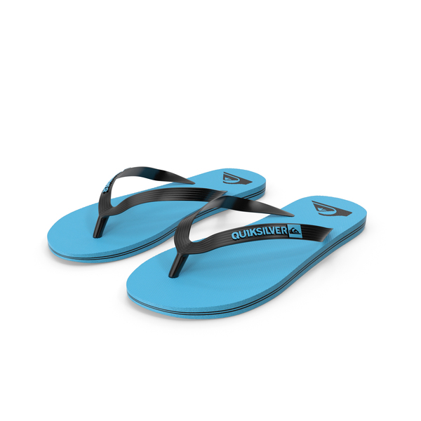 Quiksilver Molokai Flip Flops All Colors PNG & PSD Images