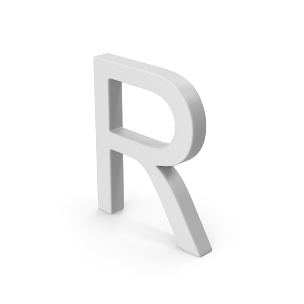 Language: R Letter PNG & PSD Images
