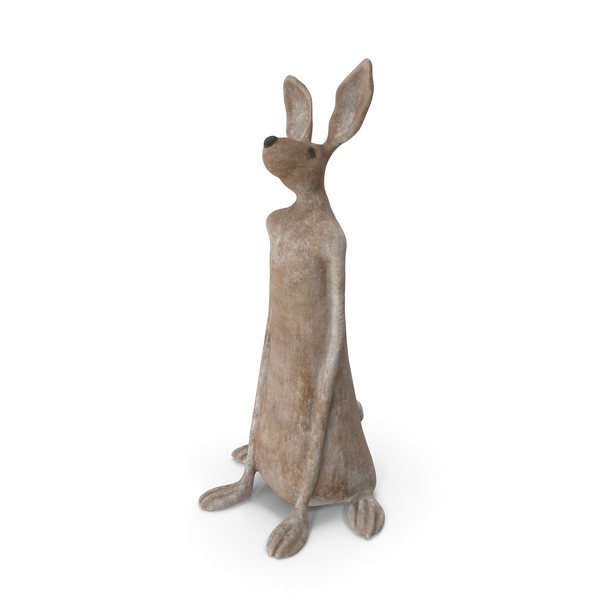 Animal Statue: Rabbit Sculpture PNG & PSD Images