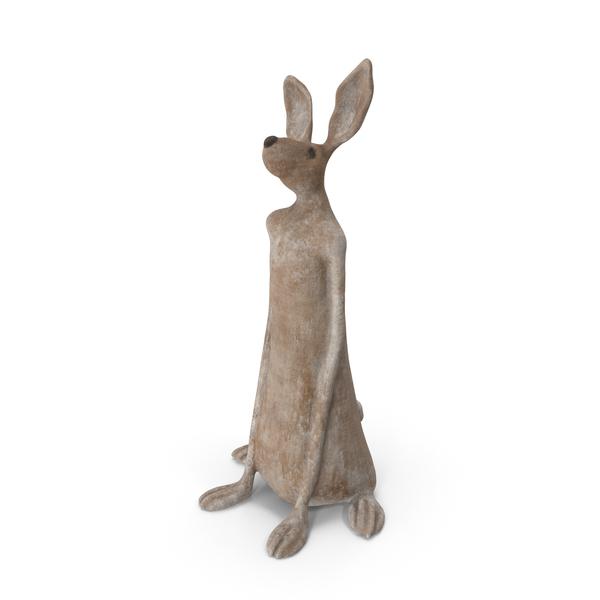 Rabbit Sculpture PNG & PSD Images