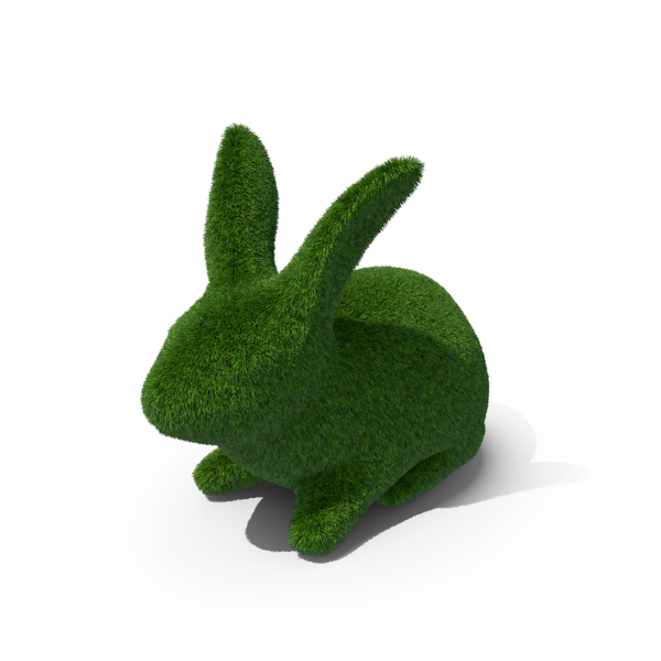 Rabbit Topiary PNG & PSD Images