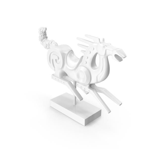 Racehorse Sculpture PNG & PSD Images
