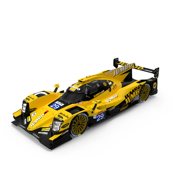 Lemans Prototype: Racing Team Nederland Oreca 07 LMP2 PNG & PSD Images