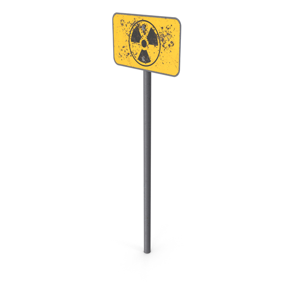 Traffic Signs: Radiation Sign PNG & PSD Images