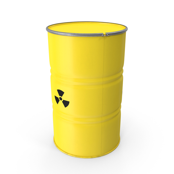 Radioactive Barrel PNG & PSD Images