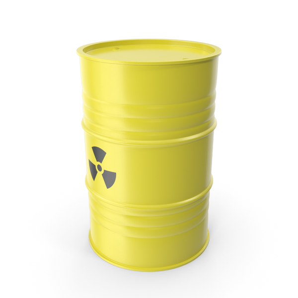 Radioactive Waste Barrel PNG & PSD Images