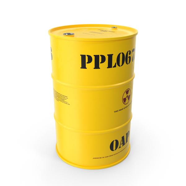 Radioactive Waste Barrel PNG & PSD Images