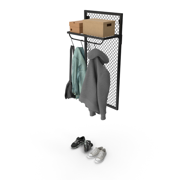 Rail Coat With Clothing PNG & PSD Images