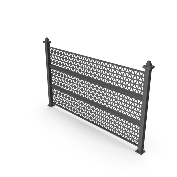 Wrought Iron Fence: Railing PNG & PSD Images