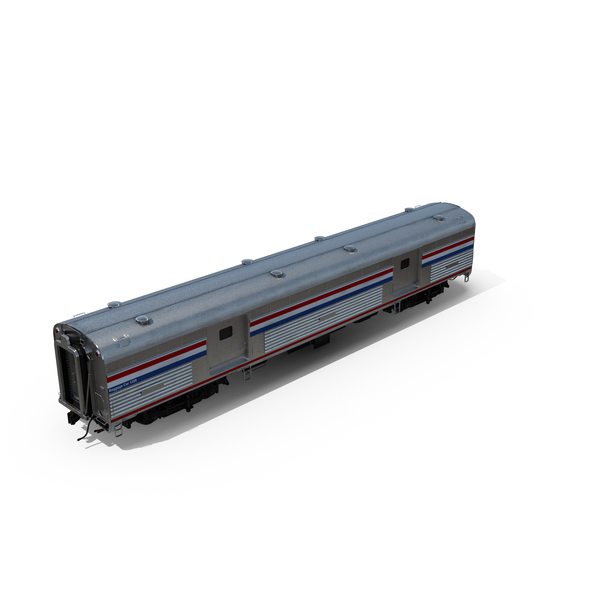 Railroad Baggage Car PNG & PSD Images