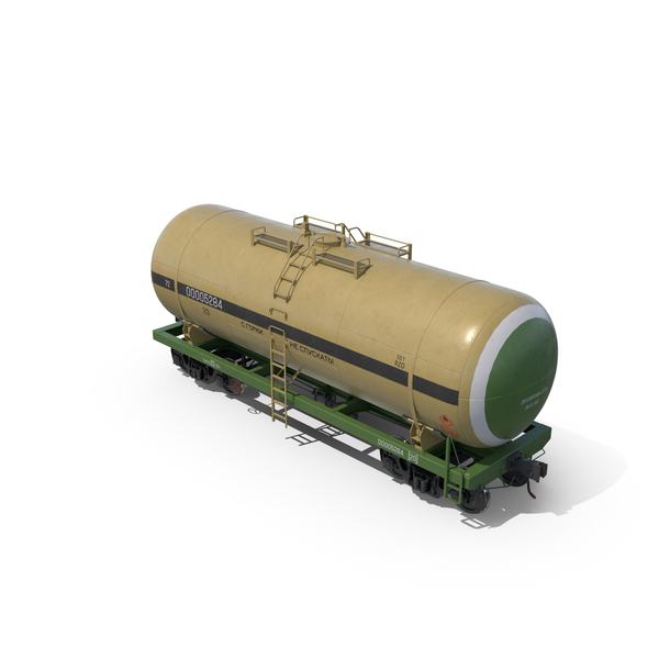 Railroad Tank Car PNG & PSD Images
