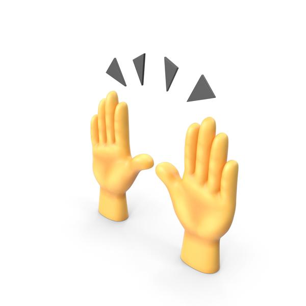Raising Hands Emoji PNG & PSD Images