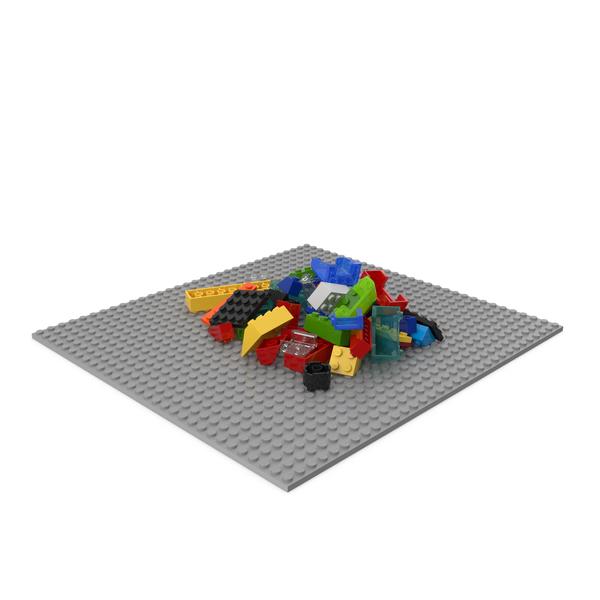 Random Lego Bricks PNG & PSD Images