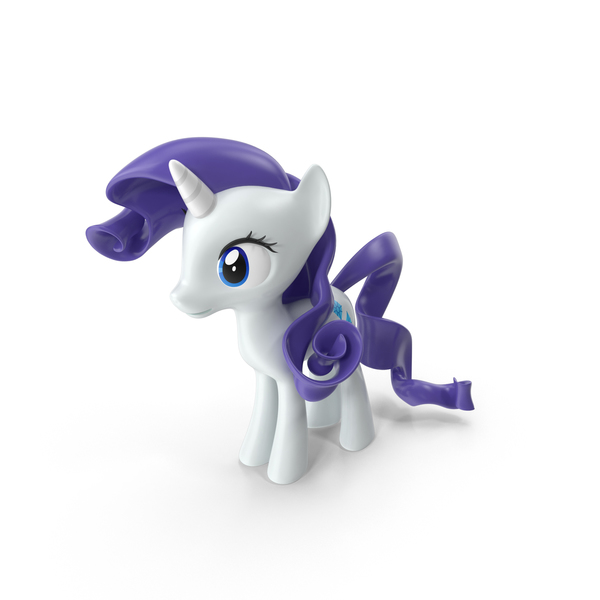 Cartoon Horse: Rarity PNG & PSD Images