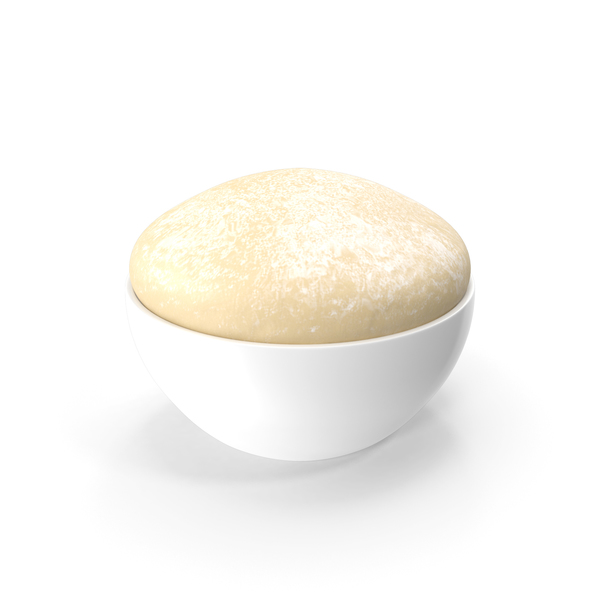 Raw Dough in Bowl PNG & PSD Images