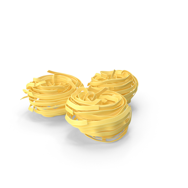 Raw Pasta Nest PNG & PSD Images