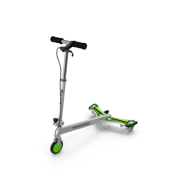 Kick: Razor PowerWing DLX Scooter PNG & PSD Images
