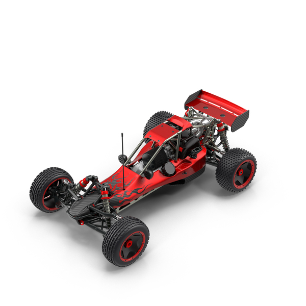Radio Controlled: RC Car Carbon Object
