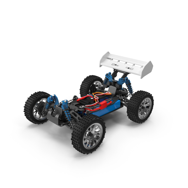 Radio Controlled: RC Car Chassis Object
