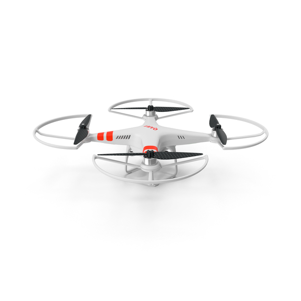 RC Quadro Copter With Video Camera PNG & PSD Images