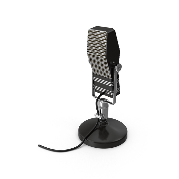RCA Microphone PNG & PSD Images