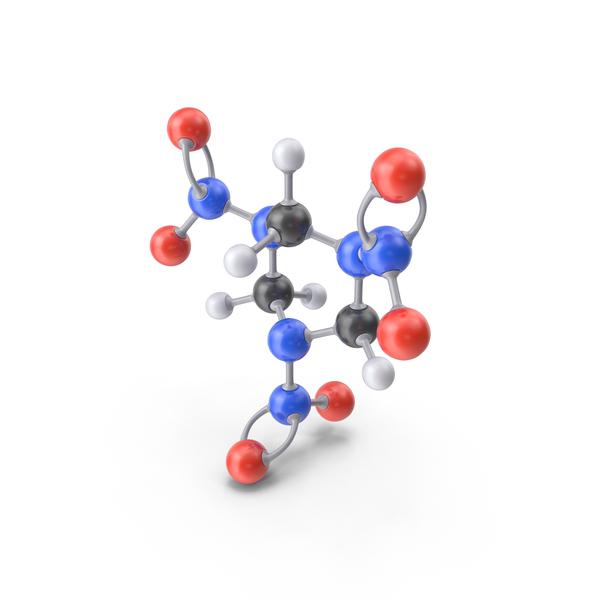 RDX Molecule PNG & PSD Images