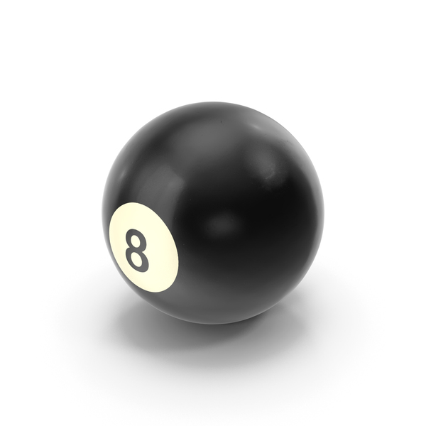 Realistic 8 Ball PNG & PSD Images